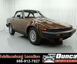 FOR SALE: 1980 TRIUMPH TR7 IN CHRISTIANSBURG, VIRGINIA