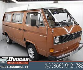 FOR SALE: 1980 VOLKSWAGEN VANAGON IN CHRISTIANSBURG, VIRGINIA