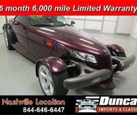FOR SALE: 1999 PLYMOUTH PROWLER IN CHRISTIANSBURG, VIRGINIA