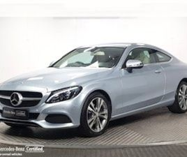 MERCEDES-BENZ C-CLASS 220D COUPE AUTOMATIC - NCT FOR SALE IN DUBLIN FOR €33946 ON DONEDEAL