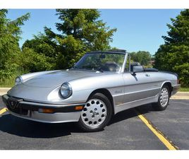 FOR SALE: 1986 ALFA ROMEO QUADRIFOGLIO IN BARRINGTON, ILLINOIS