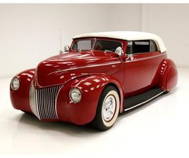 FOR SALE: 1939 FORD DELUXE IN MORGANTOWN, PENNSYLVANIA