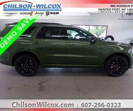 BRAND NEW GREEN COLOR 2020 DODGE DURANGO GT FOR SALE IN PAINTED POST, NY 14870. VIN IS 1C4