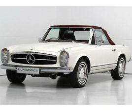 1966 MERCEDES-BENZ 230SL PAGODA RHD MANUAL