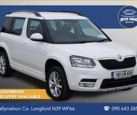 SKODA YETI 2.0 TDI CR SE - FINANCE WARRANTY AVAIL FOR SALE IN LONGFORD FOR €12900 ON DONED