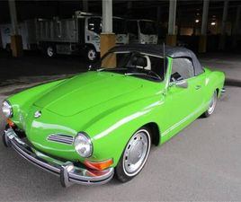 FOR SALE: 1972 VOLKSWAGEN KARMANN GHIA IN CADILLAC, MICHIGAN