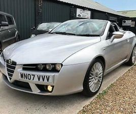 2007 ALFA ROMEO SPIDER 3.2 JTS V6 Q4 ENTRY 4WD CONVERTIBLE PETROL MANUAL