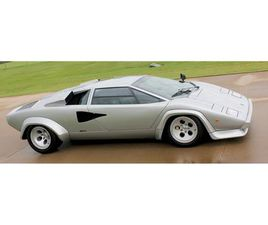 FOR SALE: 1982 LAMBORGHINI COUNTACH LP400 IN OKC, OKLAHOMA