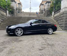 MERCEDES-BENZ E CLASS 2.1 E220 CDI BLUEEFFICIENCY SPORT CABRIOLET G-TRONIC 2DR