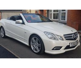 CONVERTIBLE E CLASS MERCEDES E220 DIESEL 2010 66,500 MILES GREAT CONDITION