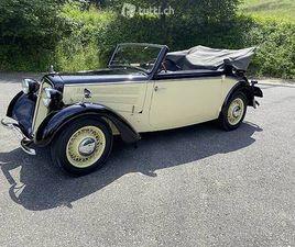 DKW F8 1939 IN SCHWARZ/CREME