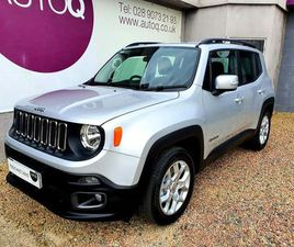 JEEP RENEGADE 1.6 LONGITUDE 5D 108 BHP