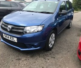USED 2014 DACIA LOGAN DCI 90 AMBIANCE ESTATE 99,368 MILES IN BLUE FOR SALE | CARSITE