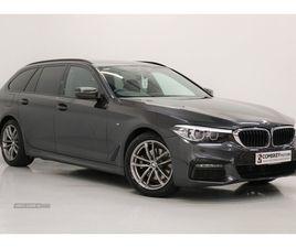 >JUN 2019 BMW 5 SERIES 520D XDRIVE M SPORT 5DR AUTO