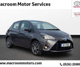 TOYOTA YARIS VVT-I ICON TECH E6 4 DOHC FOR SALE IN CORK FOR €19,500 ON DONEDEAL