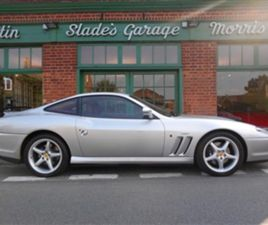 USED 1998 FERRARI 550 MARANELLO RHD COUPE 25,432 MILES IN SILVER FOR SALE | CARSITE