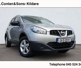 NISSAN QASHQAI +2 1.5DCI XE 7 SEATER FOR SALE IN KILDARE FOR €9,950 ON DONEDEAL