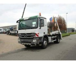 ② MERCEDES 1832 4X2 ACTROS - EURO 5 - MULTIBENNE - CAMIONS