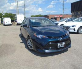 USED 2017 TOYOTA COROLLA 4DR AUTO LE NO ACCIDENT B-TOOTH B-CAMERA LINE K