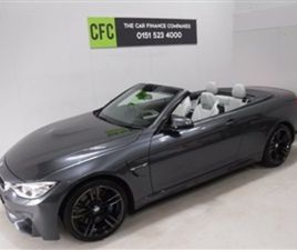 USED 2015 BMW 4 SERIES 3.0 M4 2D AUTO 426 BHP CONVERTIBLE 26,000 MILES IN GREY FOR SALE |