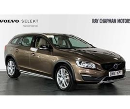 USED 2017 VOLVO V60 D4 AWD CROSS COUNTRY NAV AUTO (WINTER PACK) NOT SPECIFIED 10,125 MILES