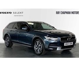 USED 2019 VOLVO V90 D4 AWD CROSS COUNTRY PLUS AUTO (XENIUM, INTELLISAFE & WINTER PACKS) NO