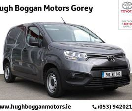 TOYOTA PROACE P CITY (75HP) GX SWB FOR SALE IN WEXFORD FOR €21,000 ON DONEDEAL