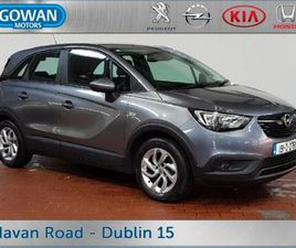 OPEL CROSSLAND X X SC 1.2I 81PS 5DR PARKING SENSO FOR SALE IN DUBLIN FOR €16,950 ON DONEDE