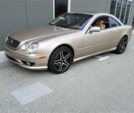 FOR SALE: 2001 MERCEDES-BENZ CL500 IN CADILLAC, MICHIGAN