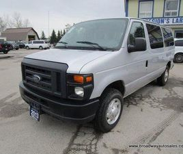 USED 2013 FORD E150 PEOPLE MOVING XL MODEL 12 PASSENGER 4.6L - V8.. EXTENDED-CARGO AREA..