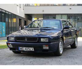 MASERATI GHIBLI 2.8 GT II 1997 - 125000 PLN - WARSZAWA - GIELDA KLASYKÓW