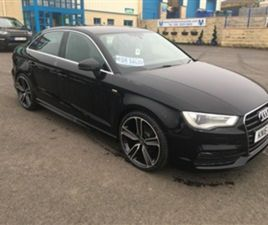 USED 2016 AUDI A3 1.6 TDI S LINE SALOON 58,109 MILES IN BLACK FOR SALE | CARSITE