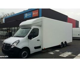 OPEL MOVANO 30M3 NEUF 163CH 1100 KG DE CHARGE