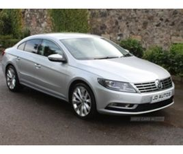 USED 2012 VOLKSWAGEN CC GT BLUEMOTION TECHNOLG COUPE 84,000 MILES IN SILVER FOR SALE | CAR