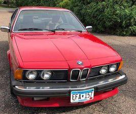 1986 BMW 635CSI 2 DOOR COUPE