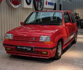 RENAULT 5 GT TURBO 3DR RED 1989