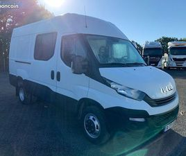 IVECO 35-140V / FOURGON 7 PLACES / 2018 / 58600 KMS