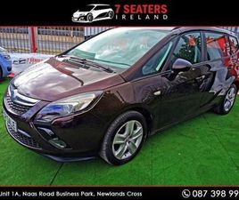 OPEL ZAFIRA TOURER CLICK COLLECT/DELIVERY LOW MIL FOR SALE IN DUBLIN FOR €10,900 ON DONEDE