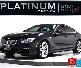 USED 2015 BMW 6 SERIES 650I XDRIVE GRAN COUPE, AWD, NAV, M-SPORT, CAM