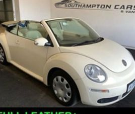 1.9 CABRIOLET 1.9 TDI 105 2D [LEATHER SEATS] CONVERTIBLE 2007