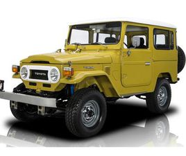 FOR SALE: 1978 TOYOTA LAND CRUISER FJ IN CHARLOTTE, NORTH CAROLINA