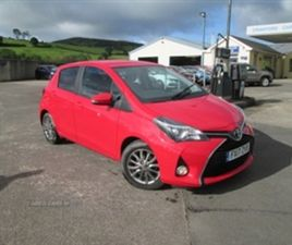 USED 2017 TOYOTA YARIS ICON D-4D HATCHBACK 39,551 MILES IN RED FOR SALE | CARSITE