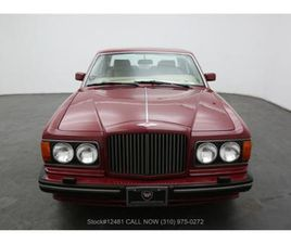 FOR SALE: 1990 BENTLEY TURBO R IN BEVERLY HILLS, CALIFORNIA