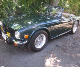 FOR SALE: 1976 TRIUMPH TR6 IN STRATFORD, CONNECTICUT