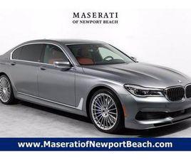 GRAY COLOR 2019 BMW 7 SERIES ALPINA B7 FOR SALE IN NEWPORT BEACH, CA 92663. VIN IS WBA7F2C