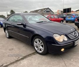 USED 2003 MERCEDES-BENZ CLK CDI ELEGANCE A COUPE 112,000 MILES IN BLUE FOR SALE | CARSITE