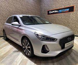 HYUNDAI I30 PREMIUM 1.4 T-GDI BLUE DRIVE CAR NUM FOR SALE IN DUBLIN FOR €16,950 ON DONEDEA