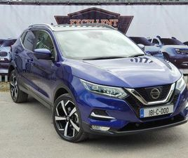 NISSAN QASHQAI, 2018 TOP SPEC. TEKNA+ LIKE NEW FOR SALE IN CORK FOR €UNDEFINED ON DONEDEAL