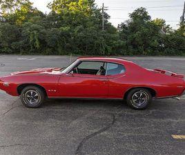 FOR SALE: 1969 PONTIAC GTO (THE JUDGE) IN ERIE, PENNSYLVANIA