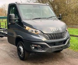2021 IVECO DAILY 70C180H 180HP MANUAL GREY RECOVERY TRUCK CAR TRANSPORTER
